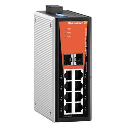 Industriële switch unmanaged Weidmüller IE-SW-VL08-6GT-2GS