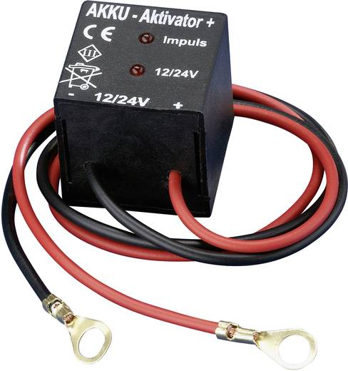 IVT Accu-activator 12 V/24 V 900006 Blei-Akku-Aktivator accu-refresher voor Loodgel, Loodzuur, Loodvlies, Lood-calcium