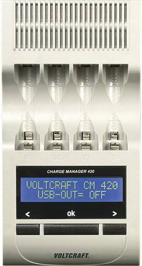 Batterijlader AAA (potlood), AA (penlite) - VOLTCRAFT Charge Manager CM420