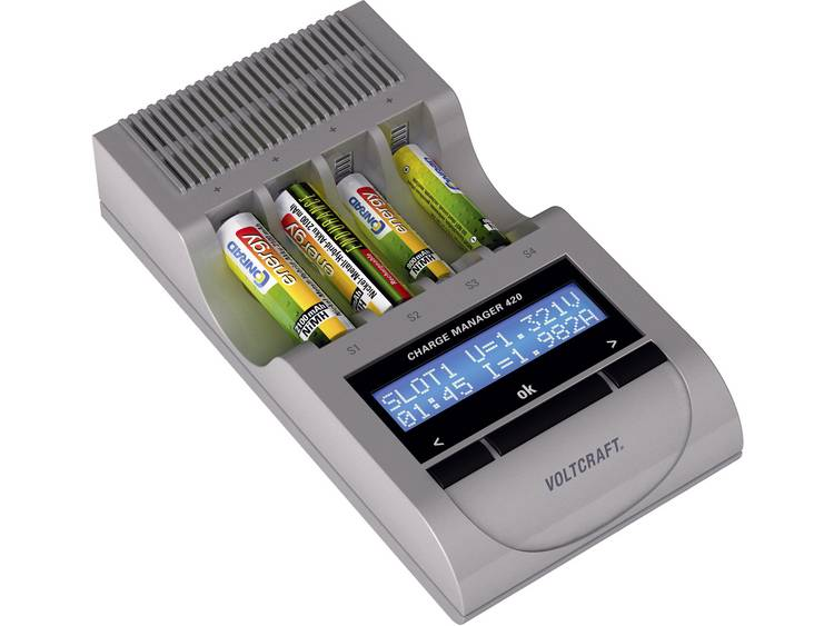 VOLTCRAFT CM420 Batterijlader Charge Manager 420