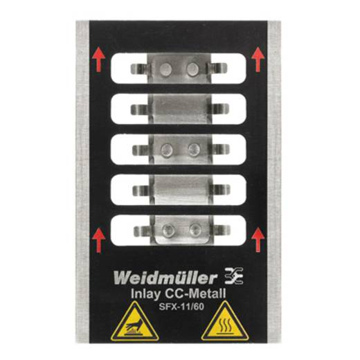Inlay voor Printjet Pro INLAY SFX-M 11/60 1341110000 Weidmüller 1 stuks