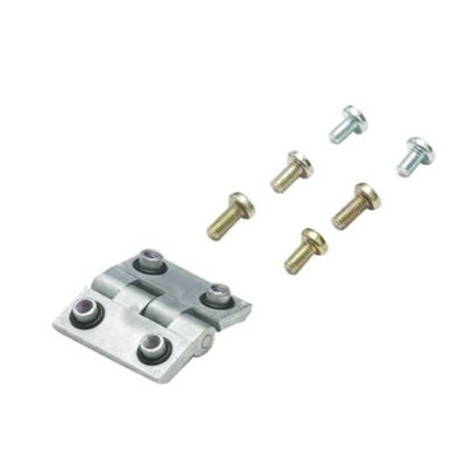 Weidmüller MOPL K51 staal Montageplaat (l x b) 207 mm x 205 mm Plaatstaal 1 stuks