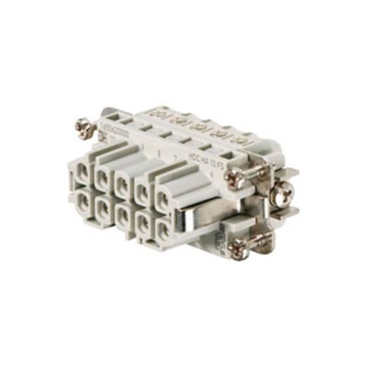 Weidmüller 1650620000 Businzetstuk RockStar® HDC HA 10 Schroeven 1 stuks
