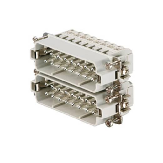 Weidmüller 1650880000 Stekker inzetstuk RockStar HDC HA 16 Schroeven 1 stuks