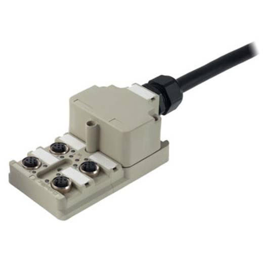 Passieve sensor-/actuatorverdeler SAI-4-M 5P M12 Weidmülle