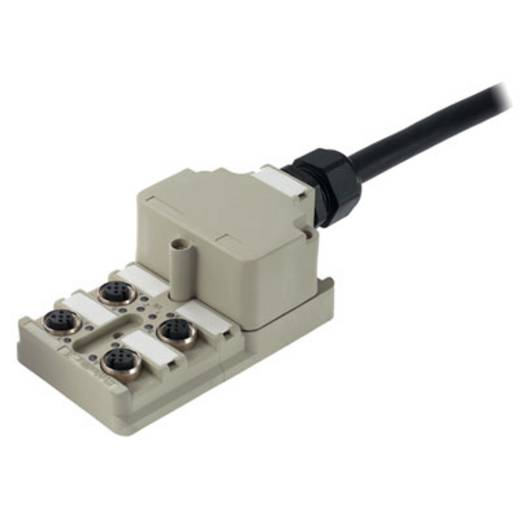 Passieve sensor-/actuatorverdeler SAI-4-MF 5P PUR 5M Weidmüller Inhoud: 1 stuks