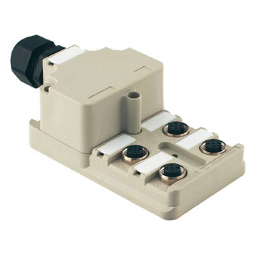 Passieve sensor-/actuatorverdeler SAI-8-M 5P M12 OL Weidmü