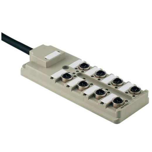 Passieve sensor-/actuatorverdeler SAI-8-F 4P IDC PUR 5M We