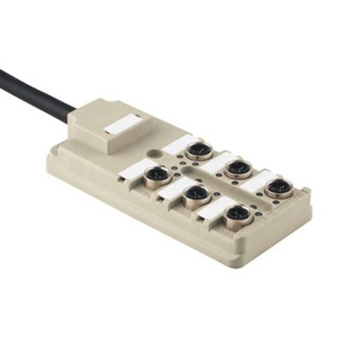 Passieve sensor-/actuatorverdeler SAI-8-F 3P IDC PUR 10M W