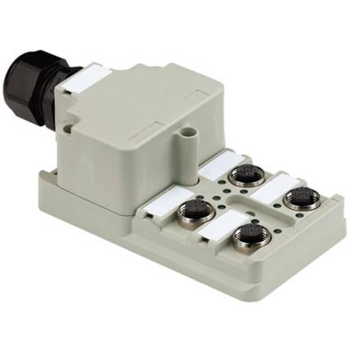 Passieve sensor-/actuatorverdeler SAI-4-M 5P M12 1:1 Weidm