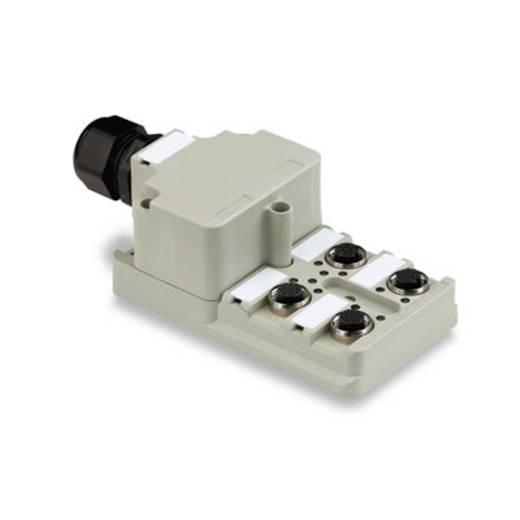 Passieve sensor-/actuatorverdeler SAI-4-M 8P M12 Weidmülle