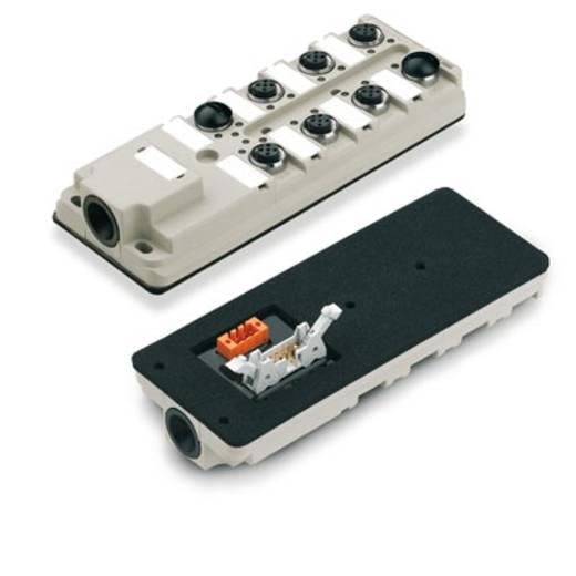 Passieve sensor-/actuatorverdeler SAI-8-B 4P M12 F10 Weidm