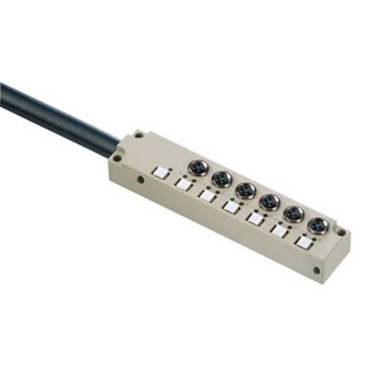 Passieve sensor-/actuatorverdeler SAI-6-F 3P M8 L 10M Weid