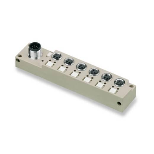 Passieve sensor-/actuatorverdeler SAI-6-S 3P M8 L Weidmüll