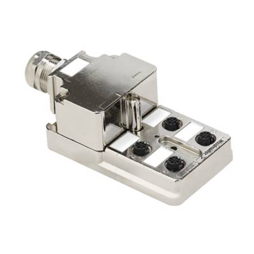 Passieve sensor-/actuatorverdeler SAI-4-MMS 5P M12 1:1 Wei