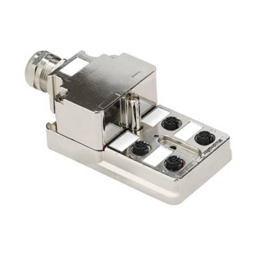 Passieve sensor-/actuatorverdeler SAI-4-MMS 5P M12 1:1 Weidmüller Inhoud: 1 stuks