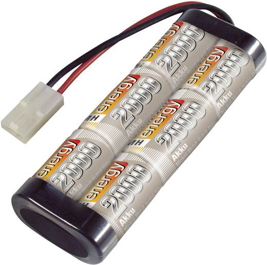 NiMH accupack 7.2 V 2000 mAh Conrad energy Stick Tamiya-stekker