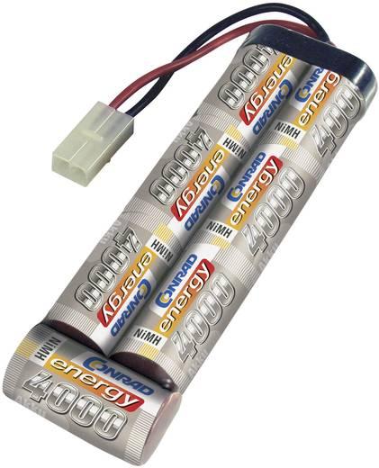 NiMH accupack 8.4 V 4000 mAh Conrad energy Stick Tamiya-stekker