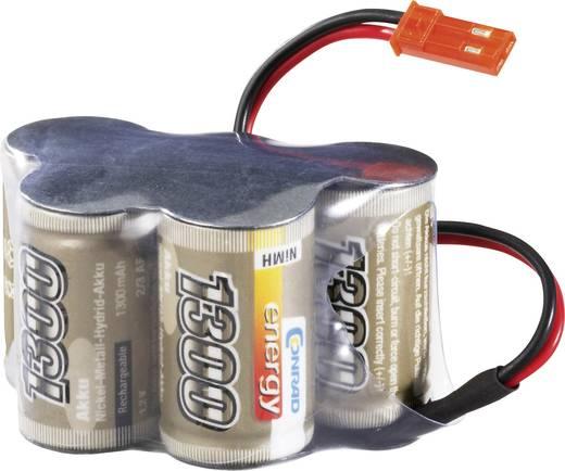 NiMH ontvangeraccu 6 V 1300 mAh Conrad energy Hump BEC
