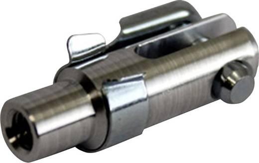Aluminium Gaffelkop met binnenschroefdraad M4 1 stuks