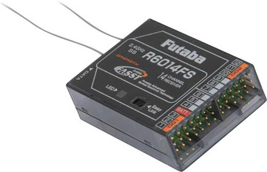 14-kanaals ontvanger Futaba R6014HS 2,4 GHz