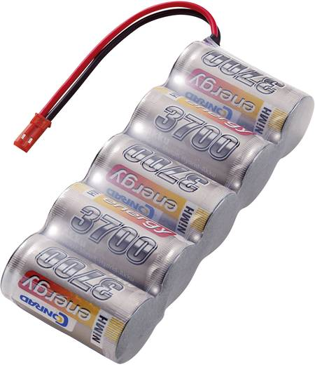 NiMH ontvangeraccu 6 V 3700 mAh Conrad energy Side by Side BEC-bus