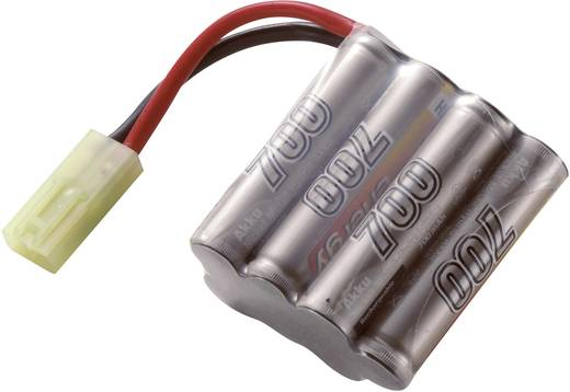 NiMH accupack 8.4 V 700 mAh Conrad energy Block Mini-Tamiya-stekker