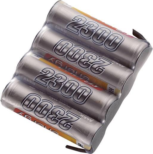 NiMH ontvangeraccu 4.8 V 2300 mAh Conrad energy Side by Side Met soldeeroog