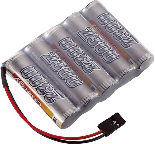 NiMH ontvangeraccu 6 V 2300 mAh Conrad energy Side by Side JR-bus
