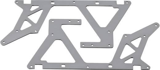 Reely Reserveonderdeel Metalen zijplaten onder Geschikt voor model (modelbouw): Rex-X, Rex-X Pro
