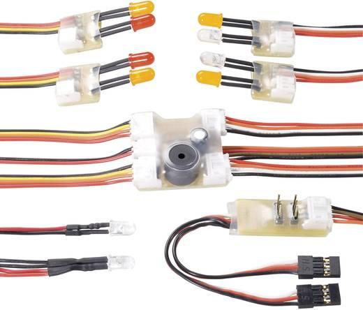 Modelcraft Multifunctionele verlichtingsmodule Wit, Rood, Geel 5 V/DC (min)