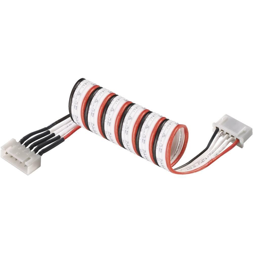 Modelcraft LiPo balanserare Förlängningskabel Utförande laddare: XH Utförande laddningsbart batteri: XH Lämplig för celler: 3