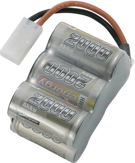 NiMH accupack 7.2 V 2000 mAh Conrad energy Block Tamiya-stekker