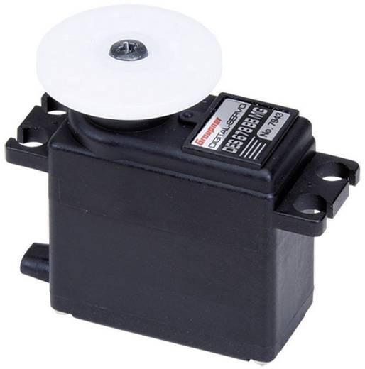 Graupner Midi-servo DES 678 BB, MG Digitale servo Materiaal (aandrijving): Metaal Stekkersysteem: JR