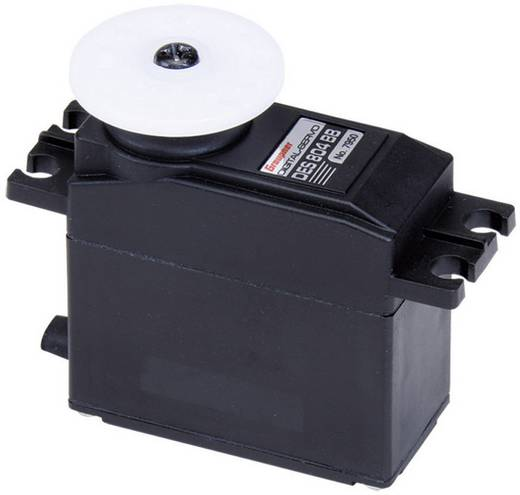 Graupner Standaard servo DES 804 BB Digitale servo Materiaal (aandrijving): Carbon Stekkersysteem: JR