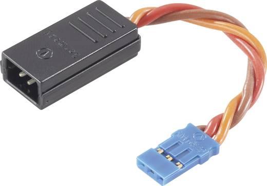 Servo Y-kabel [2x Futaba-stekker - 1x Futaba-bus] 0.50 mm² Modelcraft