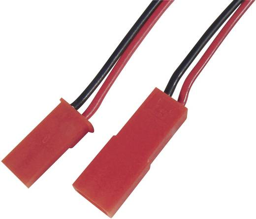 Modelcraft Verlengingskabel [1x BEC stekker - 1x BEC bus] 250 mm 0.50 mm²