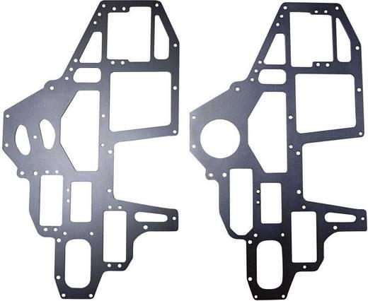 Reely Reserveonderdeel Chassisplaten Geschikt voor model (modelbouw): Thunder 500