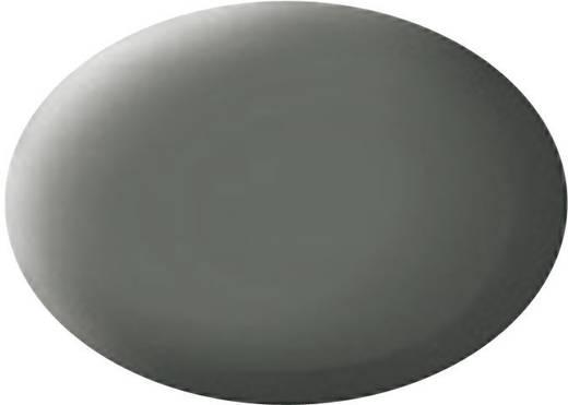 Revell 36166 Aqua Color verf Olijf-grijs (mat) Kleurcode: 66 RAL-kleurcode: 7010 Doos 18 ml