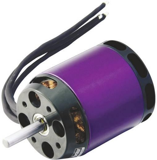 Hacker A40-14L V2 14-Pole Brushless elektromotor voor vliegtuigen kV (rpm/volt): 355 Aantal windingen (turns): 14