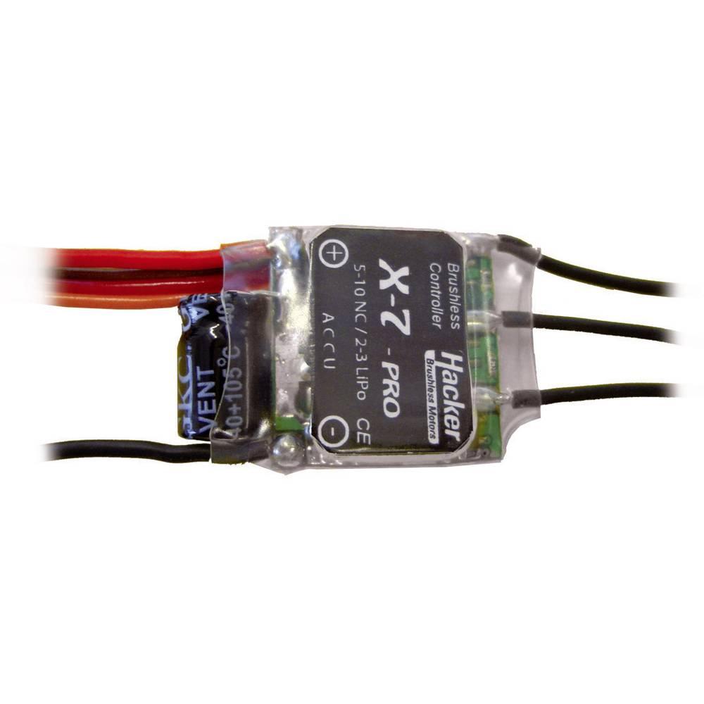 Hacker X-7-Pro BEC Borstlös regulator för flygmodell