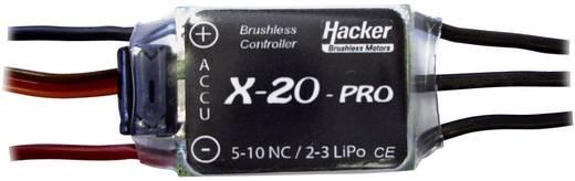 Brushless snelheidsregelaar voor RC vliegtuig Hacker X-20-Pro BEC
