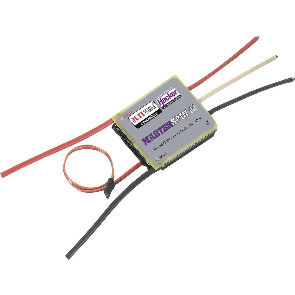 Jeti MasterSPIN 99 Pro OPTO Borstlös regulator för flygmodell