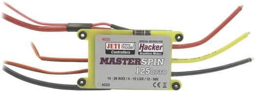 Brushless snelheidsregelaar voor RC vliegtuig Jeti MasterSPIN 125 Pro OPTO