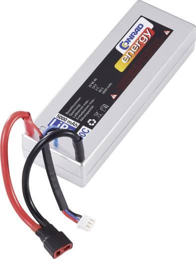 LiPo accupack 7.4 V 5000 mAh 30 C Conrad energy Box hardcase T-bussen