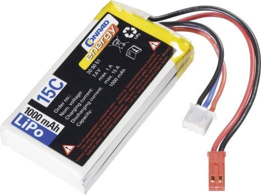 LiPo accupack 7.4 V 1000 mAh 10 C Conrad energy BEC