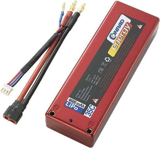 LiPo accupack 7.4 V 4600 mAh 35 C Conrad energy Box hardcase T-bussen