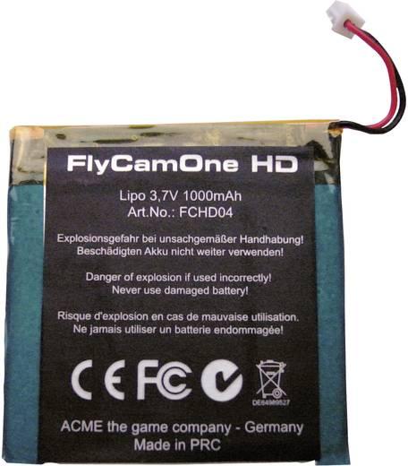 FlyCamOne HD transmitter set accu 1000 mAh