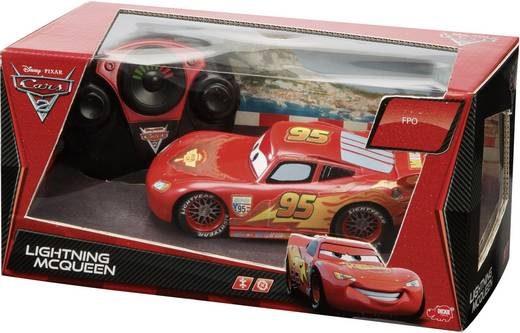 Dickie Toys Cars Lightning McQueen 1:24 RC modelauto voor beginners Elektro Straatmodel 27 + 40 MHz