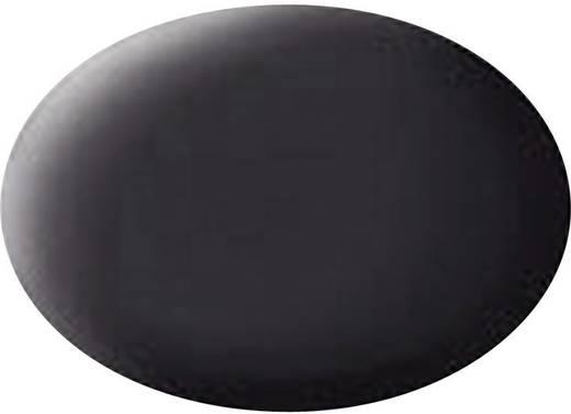 Revell 36106 Aqua Color verf Teer-zwart (mat) Kleurcode: 06 RAL-kleurcode: 9021 Doos 18 ml
